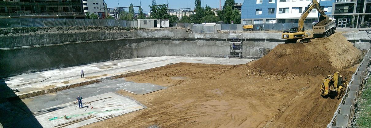 Съвременни методи за укрепванее на строителни изкопи и откоси.